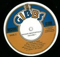 Reggae Masterpiece Vol.1 Vinyl Record LP Joe Gibbs Record Globe 2019